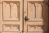 Staré dřevěné dveře — Stock fotografie