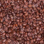 Brown coffee, background texture, close-up — Stock Photo