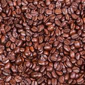 Marrón café, textura fondo, primer plano — Foto de Stock