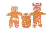 Puss in Boots gingerbread cookie — Stock Photo