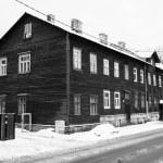 Old houses on the city streets. Tallinn. Estonia. — Stock Photo #18860231