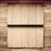 Wood window texture — Foto Stock