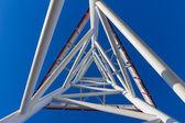 Streszczenie technologia konstrukcji — Zdjęcie stockowe