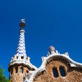 Casa de jengibre Barcelona Parque Güell de Gaudí — Foto de Stock