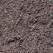 Gravel, pebbles and sand closeup background - Stock Photo
