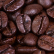 Coffee bean macro — Stock Photo
