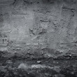 Dark industrial concrete wall and floor as background — Stock Photo