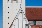 Detail of Saint Nicholas Church Tallinn — Stock Photo