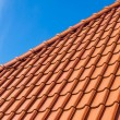 Stock Photo: Roof tile pattern