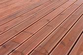 湿木阳台地板背景 — 图库照片