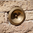 Antique bell calling porter, Italy — Stock Photo