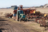 Old agriculture machines — Stock Photo