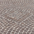Pavement & hatch sewer manhole — Stock Photo