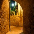 Stock Photo: Narrow alley, Pienza Italy