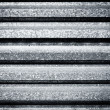 Dirty metal fence — Stock Photo