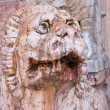 Italy, Ravenna lion statue — Stock Photo