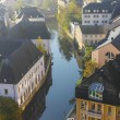 Stock Photo: Early autumn morning in the Luxembourg