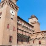 Estense Castle. Ferrara. Emilia-Romagna. Italy — Stock Photo