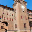 Estense Castle. Ferrara. Emilia-Romagna. Italy — Stock Photo