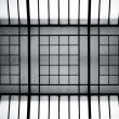 Abstract steel and glass structure — Stock Photo