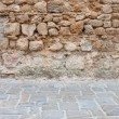 Stock Photo: Stone wall and floor texture background