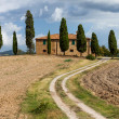 Stock Photo: Typical Tuscany landscape, Italy