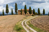 Typical Tuscany landscape, Italy — Stock Photo