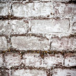 Brick white dirty wall background — Stok Fotoğraf #36126201