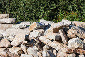 Pile of rocks for construction — Stock Photo