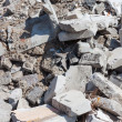 Stock Photo: Concrete debris on construction site