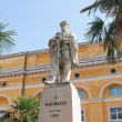 Memorial statue to Garibaldi in Ravenna — Stock Photo