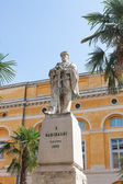 Memorial statue to Garibaldi in Ravenna — 图库照片