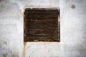 Rustic air vent — Stock Photo