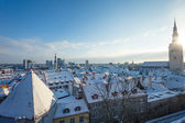 Tallinn no inverno — Fotografia Stock