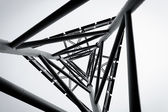 Technology abstract structure — Stock Photo
