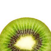 Kiwi fruit inside with seeds — Stock Photo
