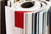 Magazines - close up — Stock Photo