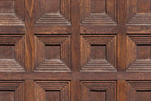 Detailní obrázek dřevěné dveře — Stock fotografie