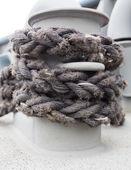 航海係留ロープ — ストック写真