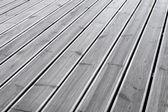 Wet wood terrace floor background — Stock Photo