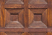 Close-up image of an wooden door — Zdjęcie stockowe