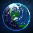 Planet earth. view from space. — Stock Photo #50686589