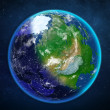 Planet earth. view from space. — Stock Photo #50686629