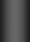 Metal texture honeycomb background — Stockfoto