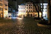 Natt lviv — Stockfoto