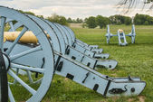 Revolutionary War Cannons — Stock Photo