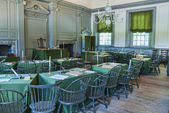 Congressional Meeting Room at Independence Hall — Stock Photo