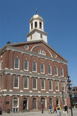 Faneuil Hall meeting place of revolutionaries — Stock Photo