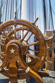 Helm of the USS Constitution — Stock Photo