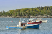 Lobster Boats in Bar Harbor — Stock Photo